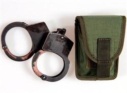 Подсумок для наручников molle олива - фото 6441