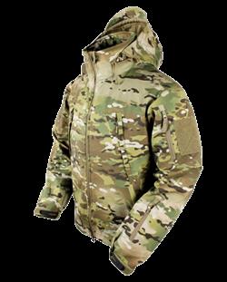 Куртка Оперативник софт-шелл Multicam - фото 6833