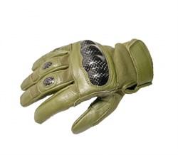 Перчатки Tac-Force Olive - фото 6903