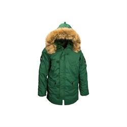 Куртка аляска Altitude Parka Alpha Forest Green - фото 9128