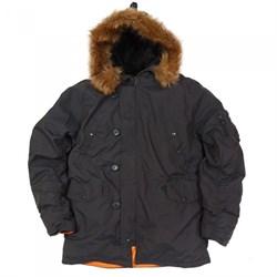Куртка аляска N3B Oxford Grey-Black - фото 9160
