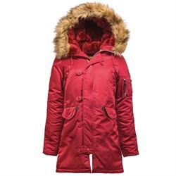 Куртка аляска женская N-3B W Parka Commander Red - фото 9665