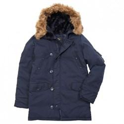 Куртка аляска N3B Oxford Replica Blue/Replica Blue - фото 9780