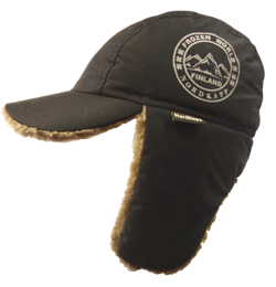 Шапка-кепка NordKapp Frozen World черная - фото 9850