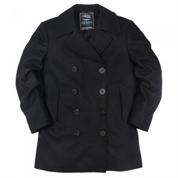 Бушлат USN Pea Coat Long Nord Storm Black - фото 9937