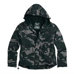 Куртка Windbreaker Zipper Black Camo - фото 9981
