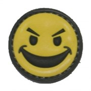 Шеврон на липучке Smile PVC