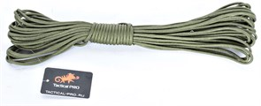 Шнур Paracord 7 core 15 метров olive
