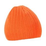Шапка NordKapp с флисом оранжевая