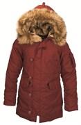 Куртка аляска женская Altitude W Parka Alpha Red Ochre