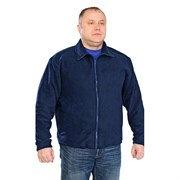 Куртка флис светло синий