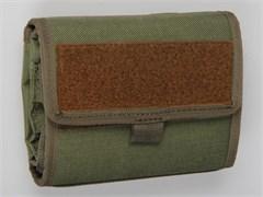 Малый полевой планшет molle олива
