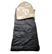 Спальный мешок Аляска Стандарт с подголовником до -5 олива