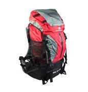 Рюкзак туристический Campsor YAK 75л+10л red