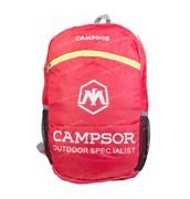 Рюкзак  Campsor складной легкий 12л red
