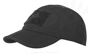 Кепка бейсболка Folding Helikon Black