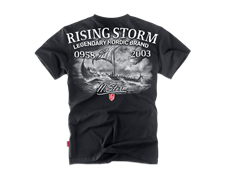 Футболка Dobermans Aggressive Rising Storm TS162 черная