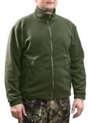 Куртка флис олива