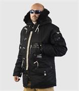 Куртка аляска Apolloget Sapporo Black