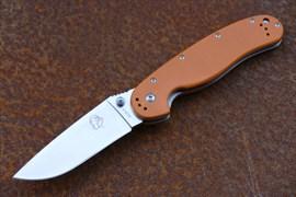 Нож складной туристический Steelclaw Крыса оранжевый