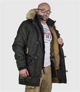Куртка аляска Apolloget Arctic Beluga/Sinamon