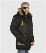 Куртка аляска Apolloget Expedition Black/Cinnamon