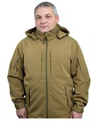 Куртка soft shell Mistral coyote brown