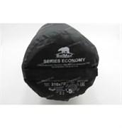 Спальный мешок Аляска Эконом с подголовником до -5 черный
