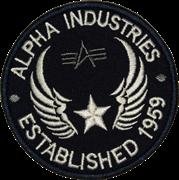 Шеврон на липучке Alpha Industries