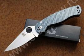 Нож складной туристический Боец-2 Carbon Blue
