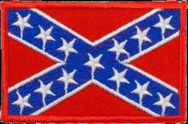 Шеврон на липучке Флаг Конфедерации