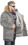 Куртка аляска Apolloget Expedition Gun Grey