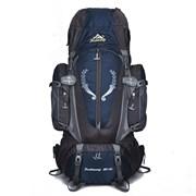 Рюкзак туристический Weikani 85л темно-синий