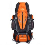 Рюкзак туристический Weikani 85л оранжевый
