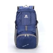 Рюкзак складной Weikani 35л темно-синий