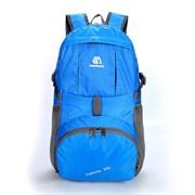 Рюкзак складной Weikani 35л голубой