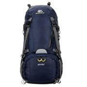 Рюкзак туристический Weikani 50+10л синий