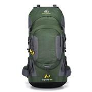 Рюкзак туристический Weikani 60л зеленый
