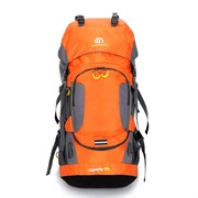 Рюкзак туристический Weikani 60л оранжевый