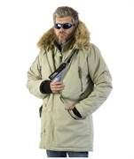 Куртка аляска Apolloget Expedition Silver Green