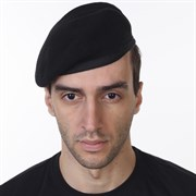 Берет НАТО черный