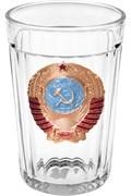 Стакан граненый с гербом СССР