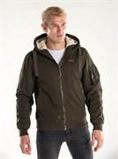 Куртка утепленная Cotton lx Bomber Jacket 421 темно-оливковый
