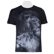 Футболка Лев и львица