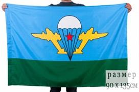 Флаг ВДВ с белым куполом