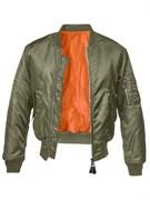 Куртка летная бомбер MA-1 Brandit Olive