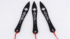 Ножи тренировочные метательные Perfect Point Hot Maltese Cross
