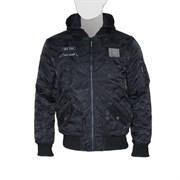 Куртка MA-1 Hooded Airborne Black Camo