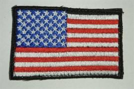 Шеврон на липучке Флаг США