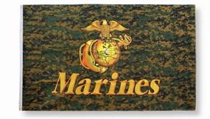 Флаг Woodland Digital Marines